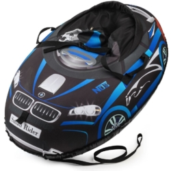 Sanki_Vatrushka_Tubing_Small_Rider_Snow_Cars_BW_Black_Blue_result