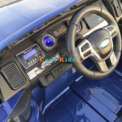 Электромобиль Ford Ranger F650 4WD (полный привод, 2х местный, резина, кожа,пульт, музыка)